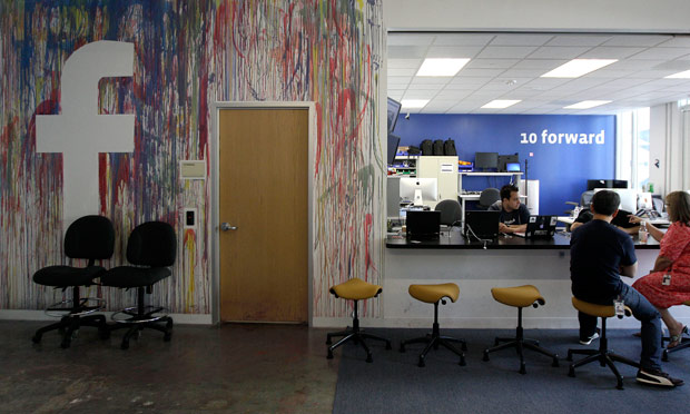 Facebook's office in California