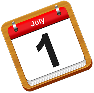 What changes are coming on 1 July?