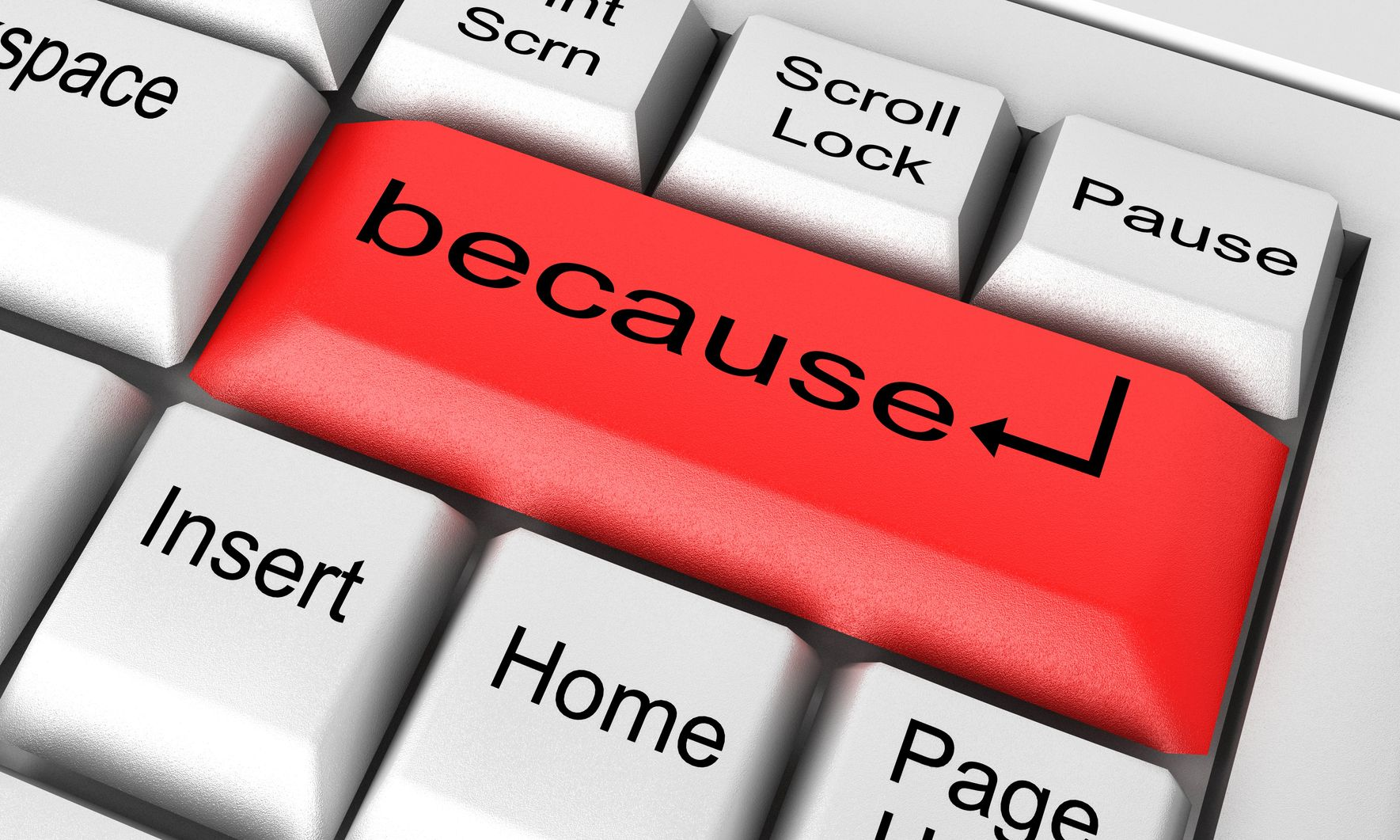 'Because' – four reasons why a simple word has confused employment lawyers for a generation